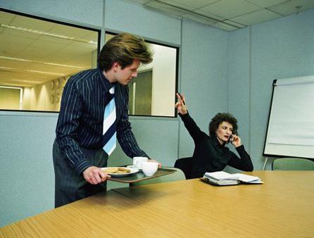 помириться с женой начальника