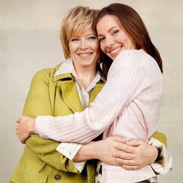 Дочь и мама вместе